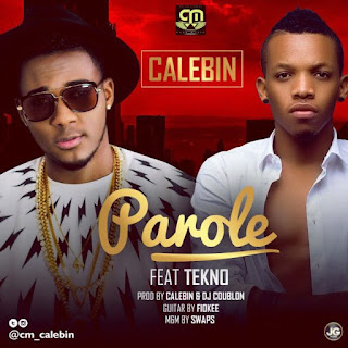 MUSIC DOWNLOAD: Calebin Ft Tekno – Parole