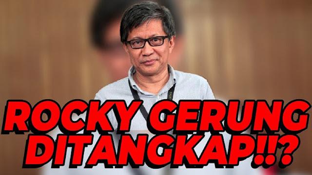 BREAKINGNEWS : Heboh! Rocky Gerung Ditangkap?!