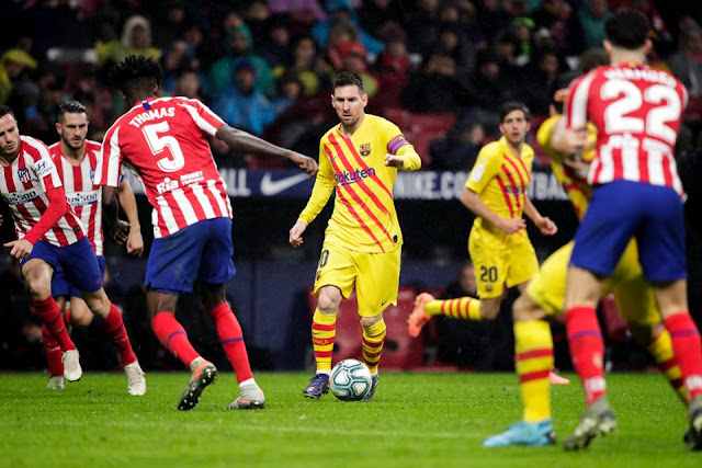 مشاهدة مباراة برشلونة وأتلتيكو مدريد بث مباشر