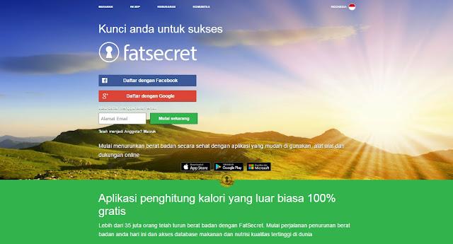 Penghitung Kalori FatSecret
