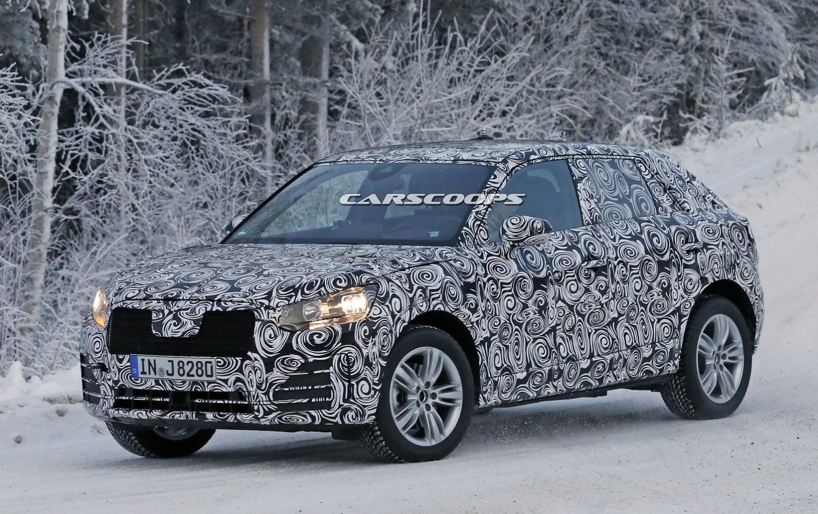 2018 Audi Q2 7 Η Alfa Romeo δίνει τα ονόματα Q2 και Q4 στην Audi και παίρνει το Bora;