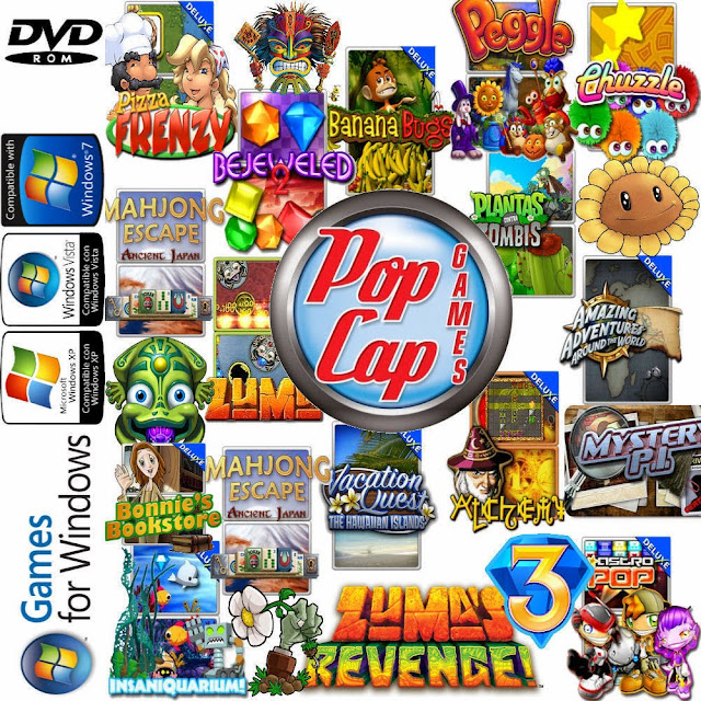 80 PopCap Games Collection download Full Version