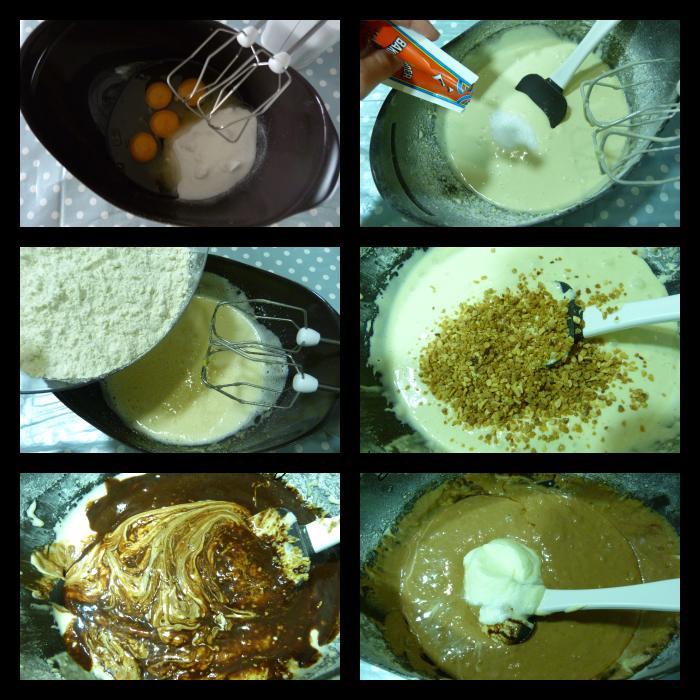 paso a paso del pastel de chocolate con frambuesa