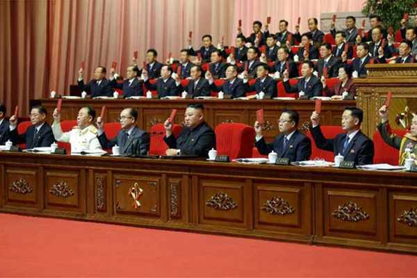 (1) WPK 8th Congress Adopts Resolution