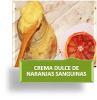 CREMA DULCE DE NARANJAS SANGUINAS