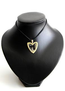 кулон в виде сердца наконечник япония ядзири подарок на валентин мужу