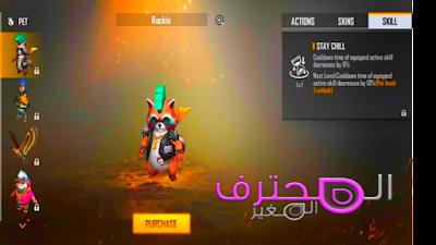 تعرف على شخصية Dasha و Pet Rockie الجديدة من Garena Free Fire ، تمت إضافتها الآن في اللعبة