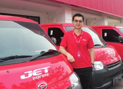 Persyaratan menjadi agen pengiriman JET Express