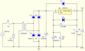 2V to 25V Power Supply Schematic