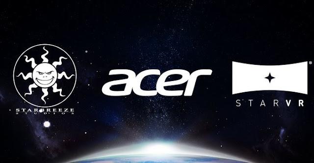 Starbreeze, Acer, starVR, virtual reality, virtual reality headset, vrheadset, starVR headset