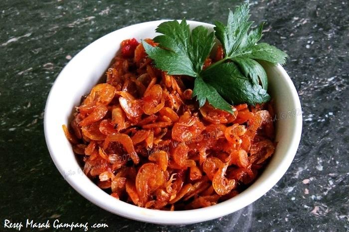 resep sambal udang