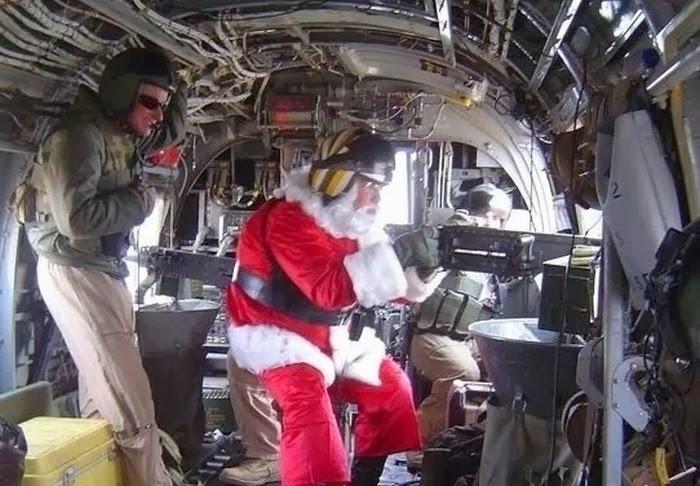 Fotos de Santa Claus como nunca lo viste