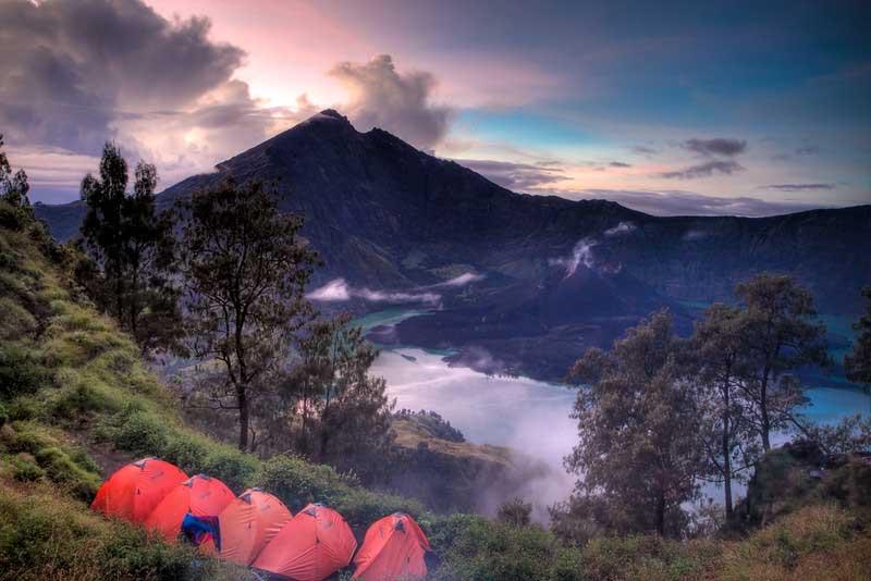 Wisata Gunung Rinjani Lombok NTB