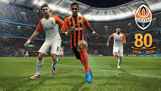 PES 2013 FC Shakhtar Donetsk Kits 2016-17 (80 Years) By Vulcanzero