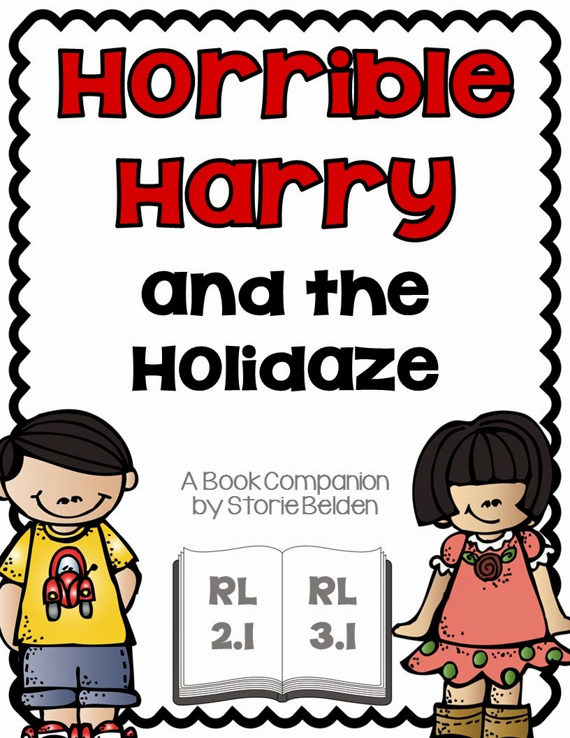 http://www.teacherspayteachers.com/Product/Horrible-Harry-and-the-Holidaze-Comprehension-Questions-824356