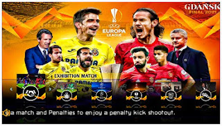 Download PES 2021 Special UEL PPSSPP Android New Kits 2022 & Latest Transfer