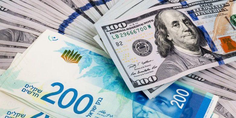 الشيكل ينخفض مقابل الدولار مع استمرار إطلاق الصواريخ