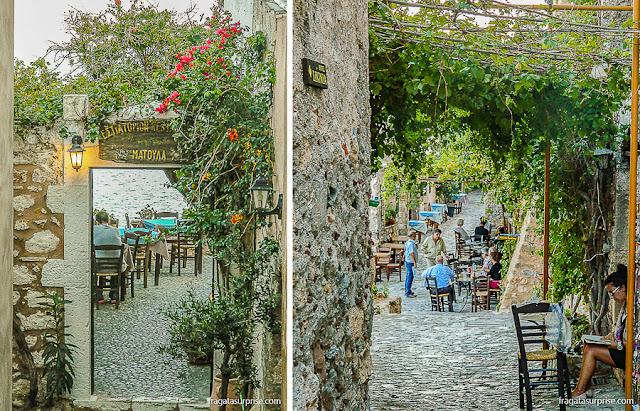 Vila de Monemvasia, Grecia