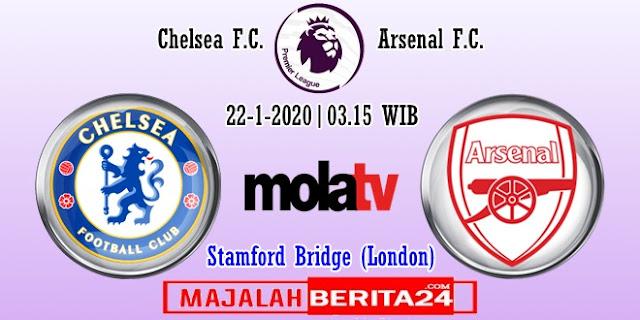 Prediksi Chelsea vs Arsenal — 22 Januari 2020