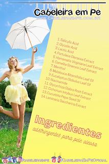Ingredientes Adstringentes - Pele Oleosa Produtos