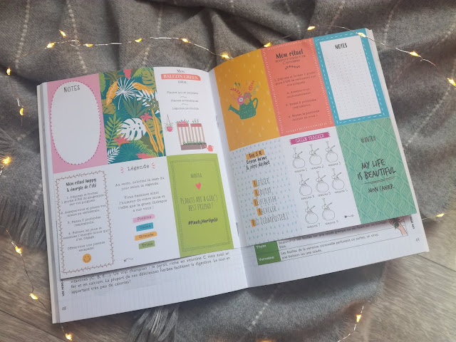 Mon cahier Cocooning avec les plantes My Life is Beautiful