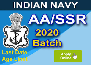 Indian Navy Sailor Are Issued Notification for Sailor Entry SSR, AA  February 2020 Batch , Check Eligibility, Exam Date, Age Limit, Syllabus, How to Apply