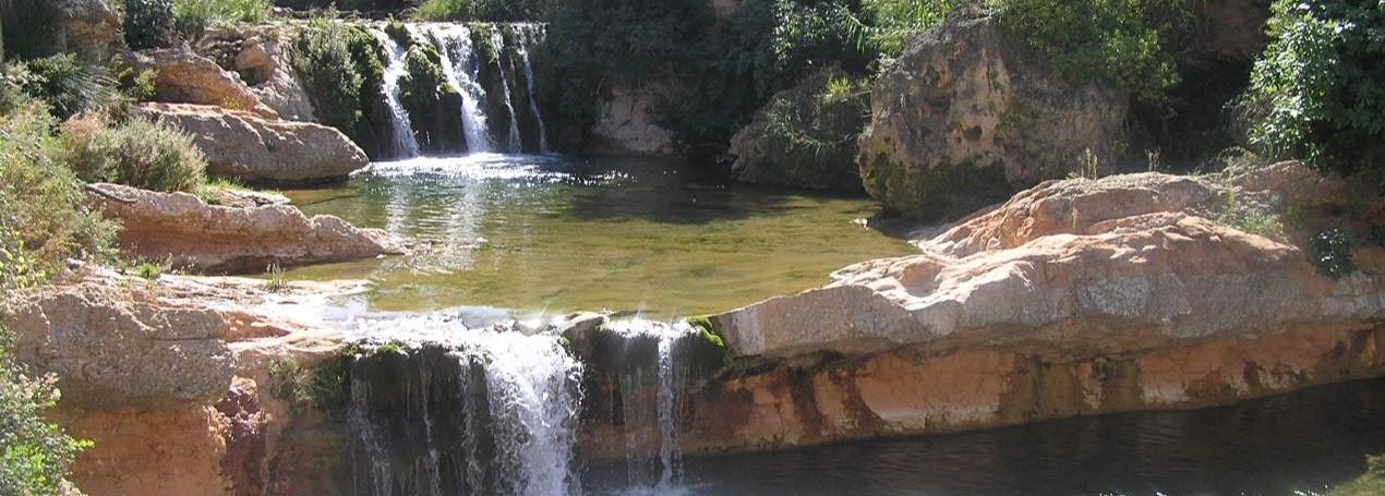 Piscinas naturales río Matarraña