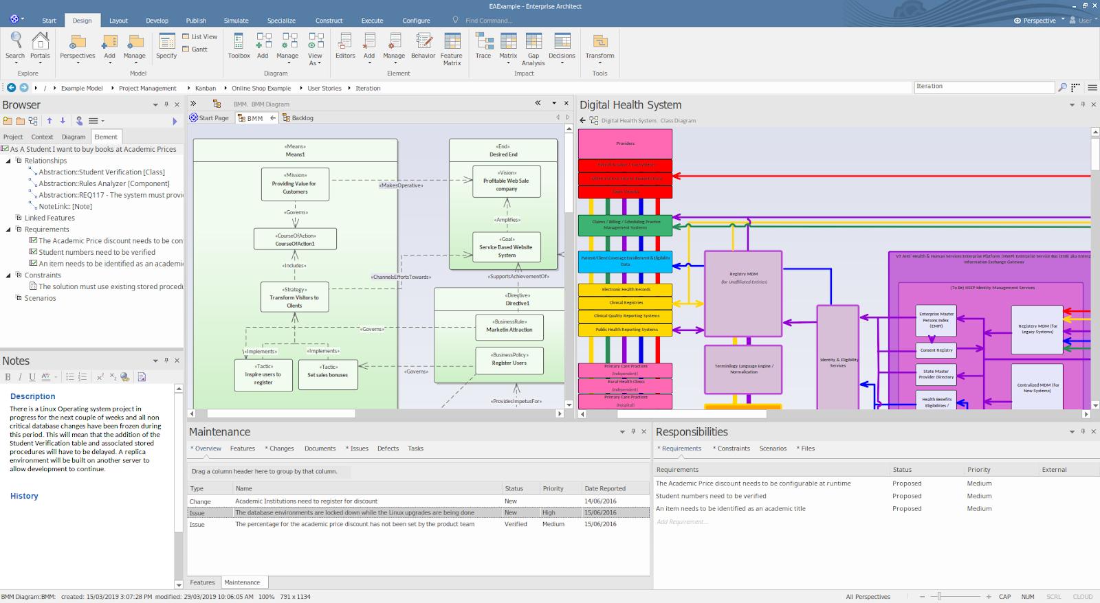 تحميل برنامج Enterprise Architect 15.1 Build 1529 للتصميم والنمذجة