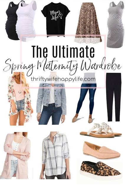 The Ultimate Spring Maternity Wardrobe