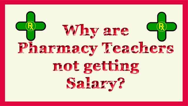 फार्मेसी टीचर्स का डरना क्यों जरूरी है