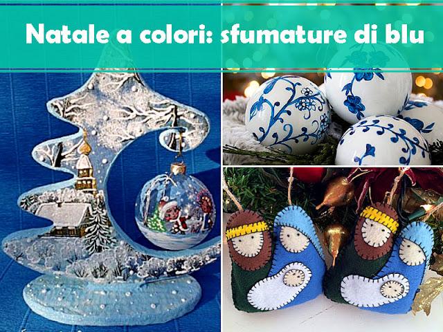 Natale a colori: sfumature di blu