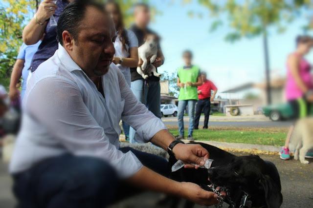 """""""Panchito"""" Torres ofrece campaña de esterilización y vacunación antirrábica"""