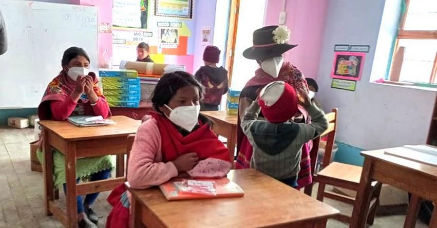 MINEDU: Más de 17 mil colegios a nivel nacional estarían habilitados para reanudar las clases a partir del 19 de abril
