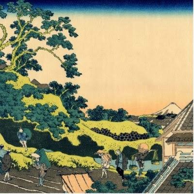 usai Pintura da série Trinta e Seis Vistas do Monte Fuji
