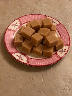 fudge gemaakt voor onze koekjesworkshop / proeverij. schrijf je snel in voor de workshop om het mee te kunnen maken!