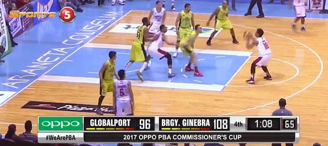 Ginebra def. GlobalPort, 113-96 (REPLAY VIDEO) April 5