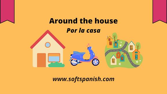 Learn Spanish in india, Spanish vocabulary, Around the house