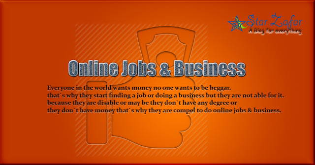 Online Job & Business