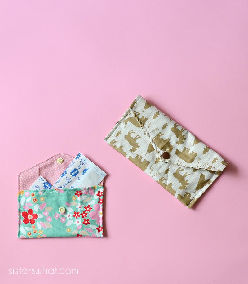 diy envelope clutch sewing pattern