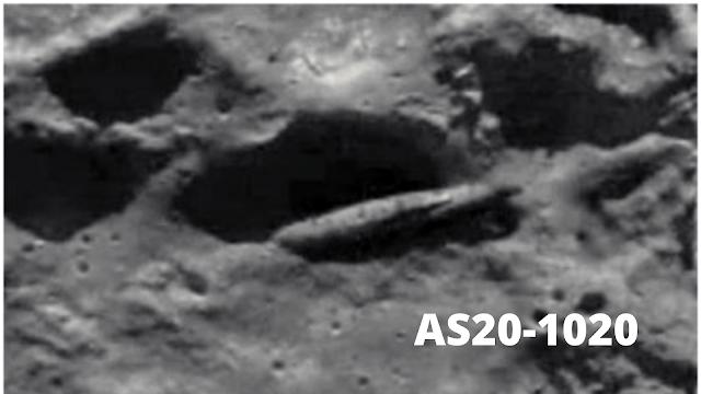 Photo taken by the Apollo image Atlas AS20-1020.