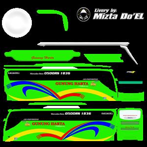 livery gunung harta hijau mod jb3 shd by mbs team
