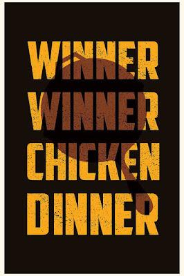Pubg, winner winner chicken dinner