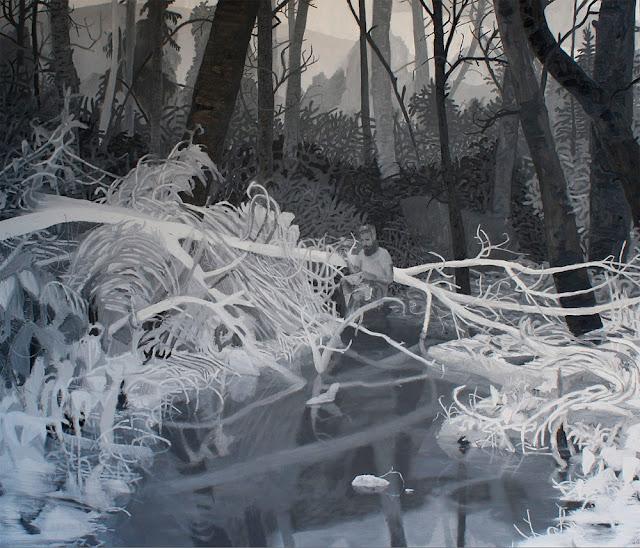 Big Mingo Gap, Oil on Canvas, 48 in x 56 in, 2013