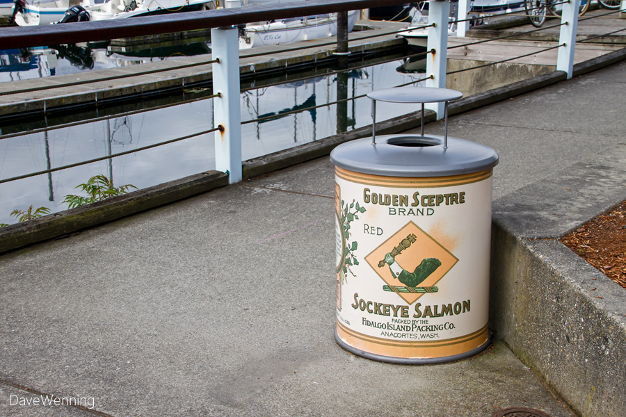 Anacortes Trash Can