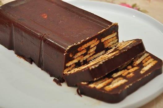 Kek Batik Biskut Marie