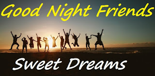 good night friends sweet dreams images