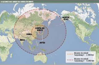Resultado de imagem para misseis coreia norte