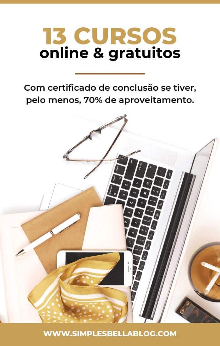 13 cursos online gratuitos para turbinar seu currículo