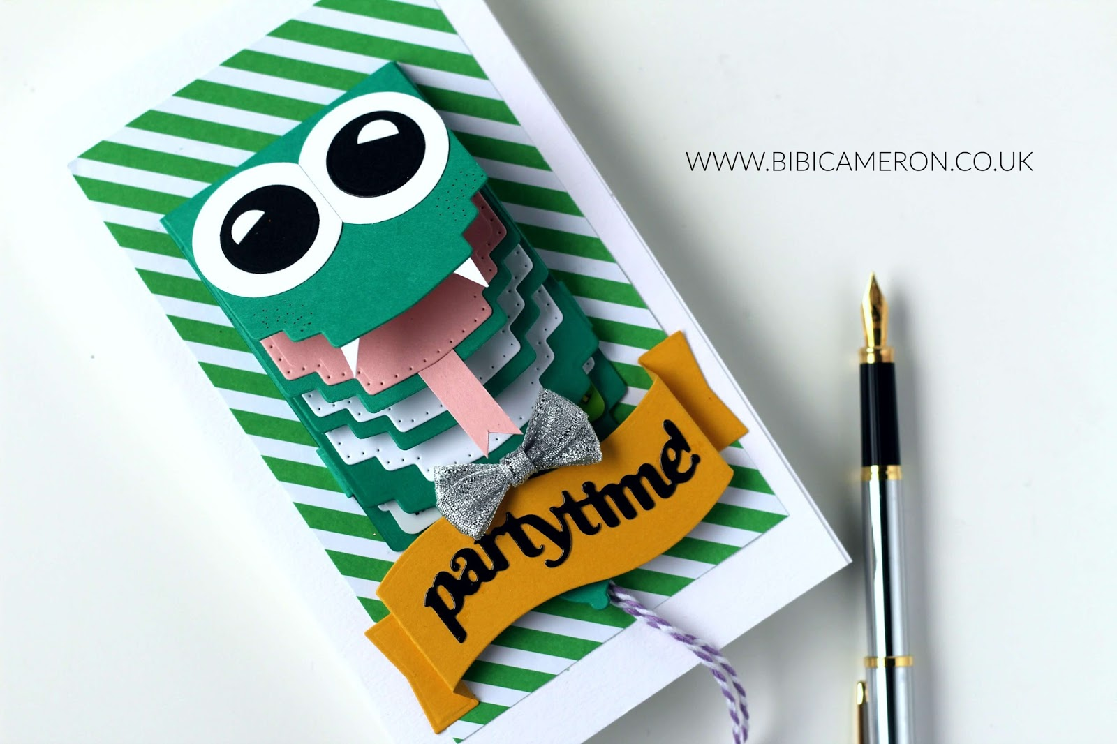 Custom Waterfall Cards With Tonic Studios Craft Kit 4 Bibi Cameron