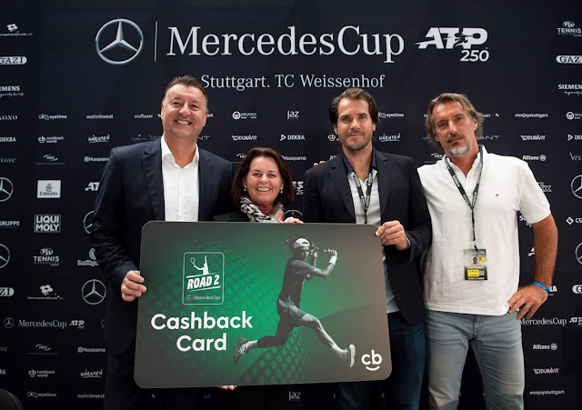 Tennis Cashback Card - new partner of Cashback World - milanrericha.cz